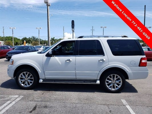 2017 Ford Expedition Limited In Stuart Fl West Palm Beach Ford Expedition Wallace Mazda